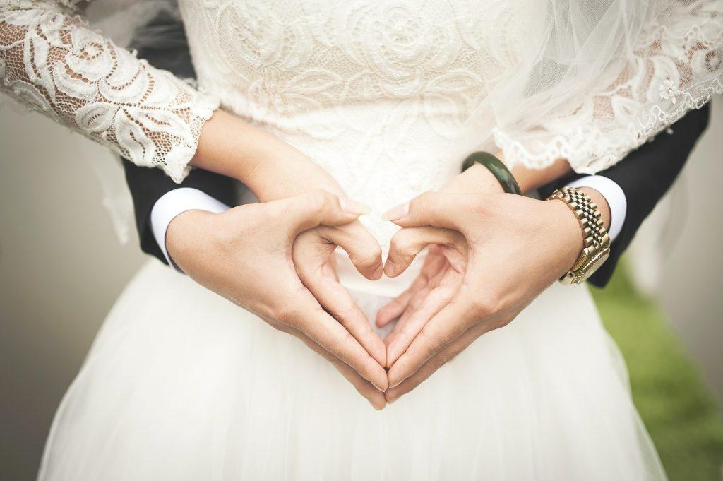Gliederung der Hochzeitsrede - Hände