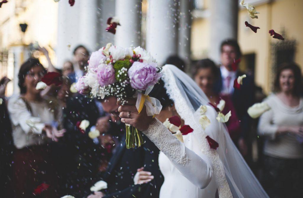 Besondere ungewöhnlche Hochzeitsrede - Brautstrauß