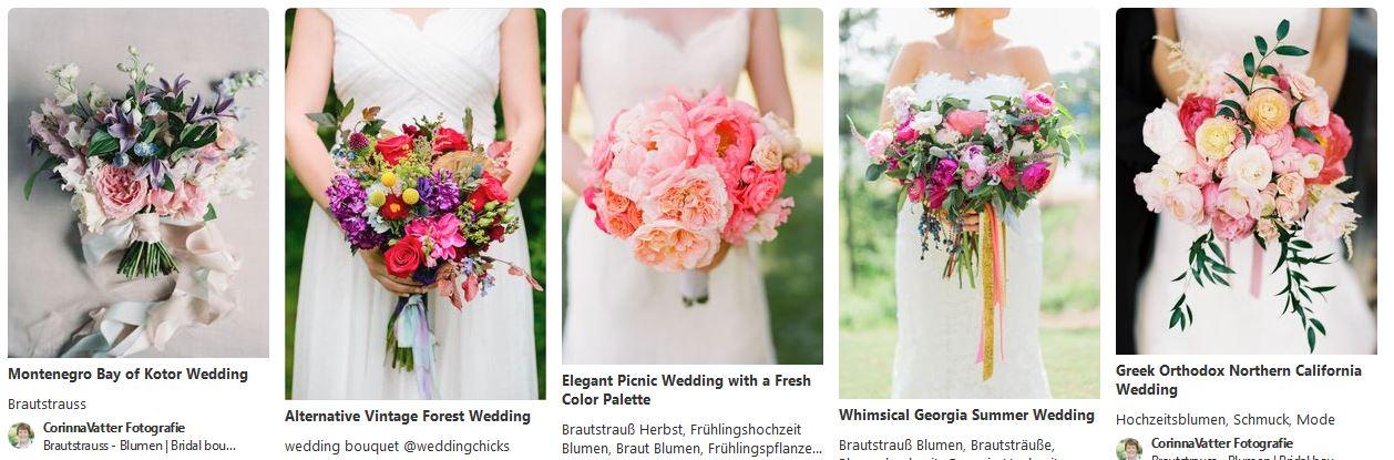 Brautsträuße auf Pinterest