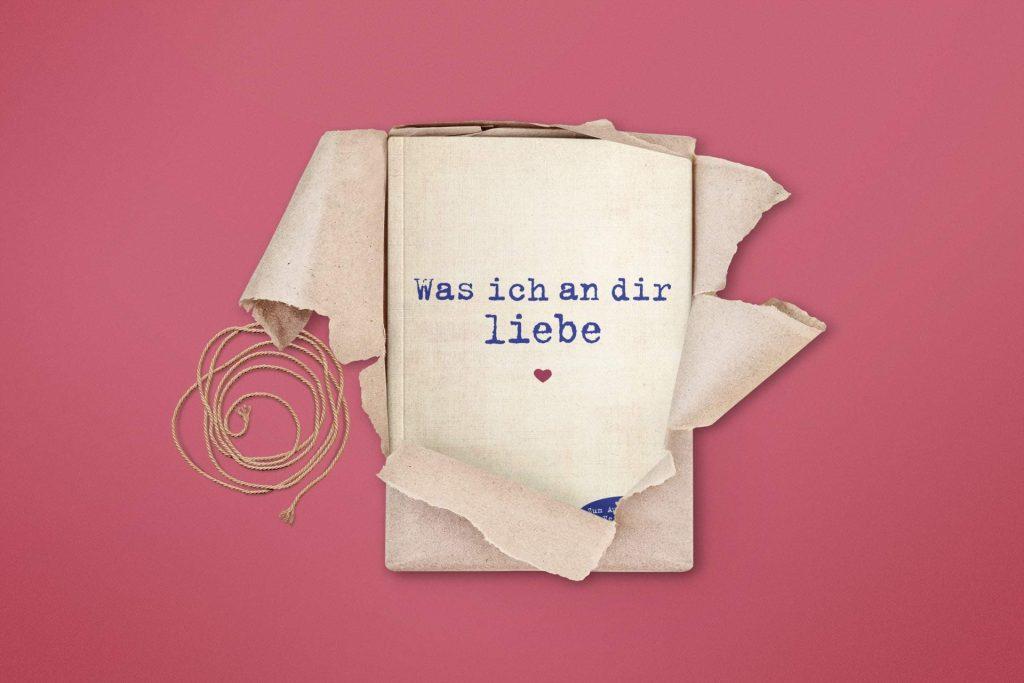 "Buchcover ""Was ich an dir liebe"""