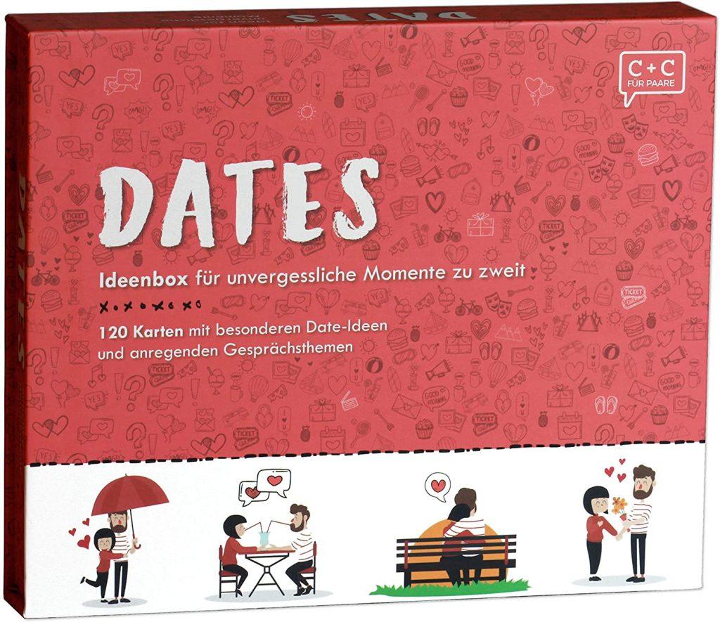 """Ideenbox """"DATES"""" für Paare"""