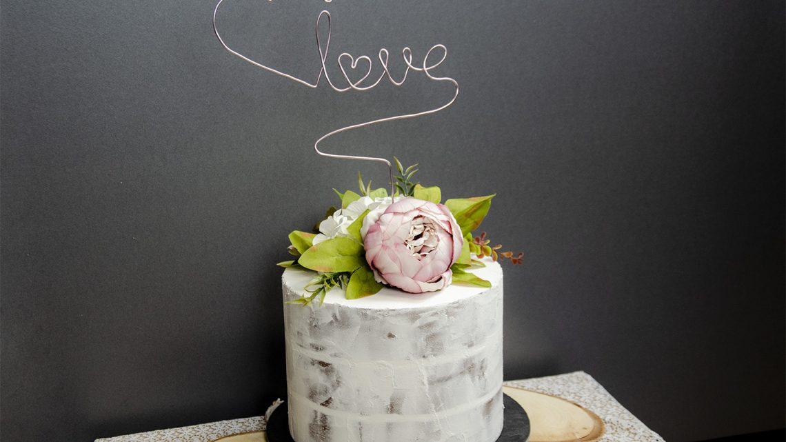 Fake Torte DIY gebastelt