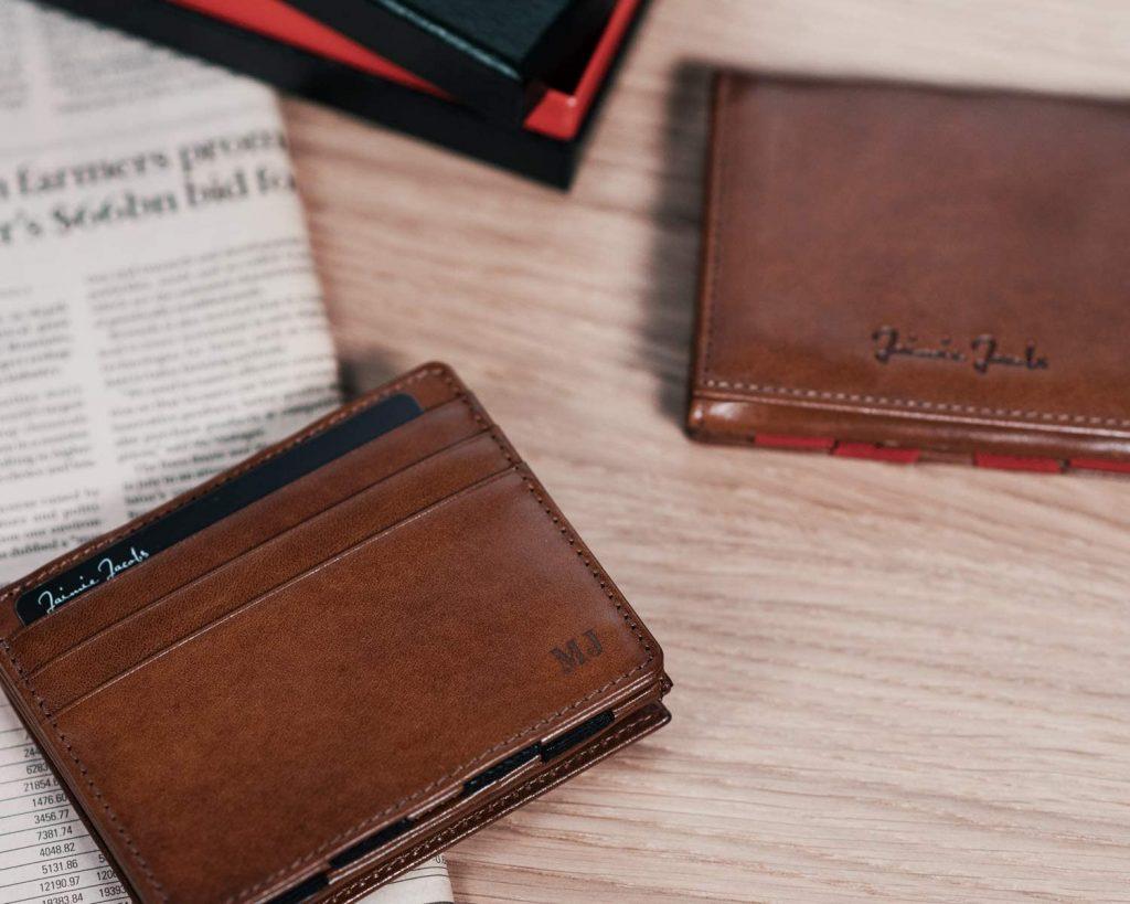 Personalisierte Geldbörse für Männer