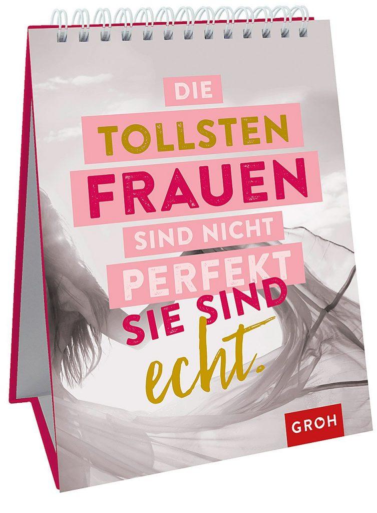 Spiralbuch mit Sprüchen und Zitaten für Frauen