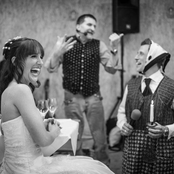 Showeinlage auf einer Hochzeit von Michael als Zauberkünstler