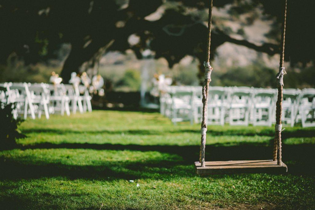 Schattige Hochzeitslocation bei Hitze am Hochzeitstag
