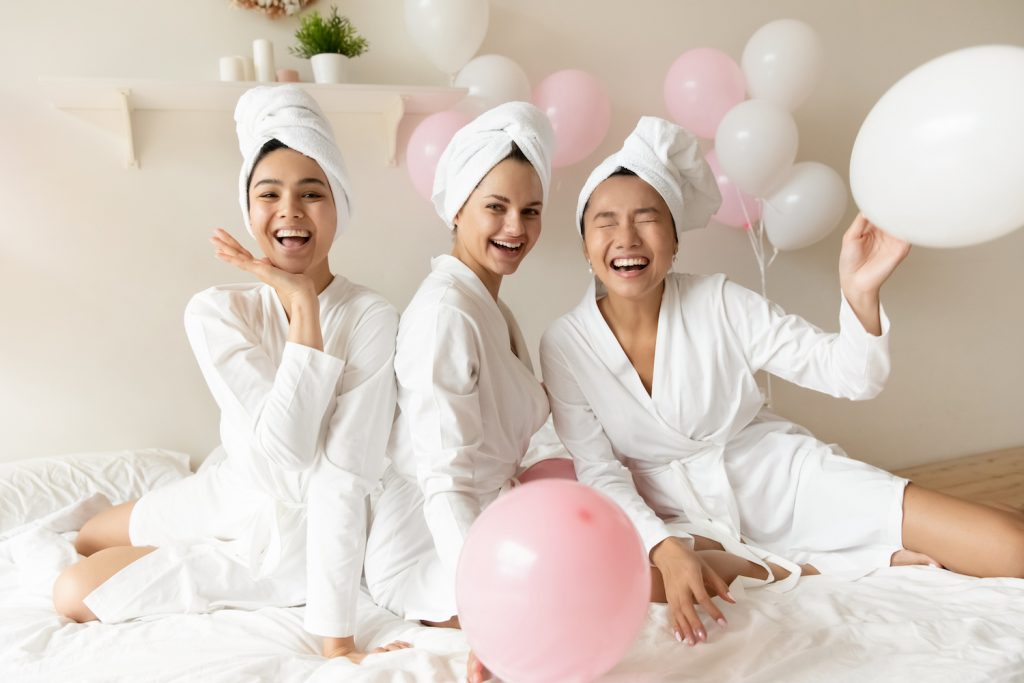 Beauty-Session JGA für die Braut
